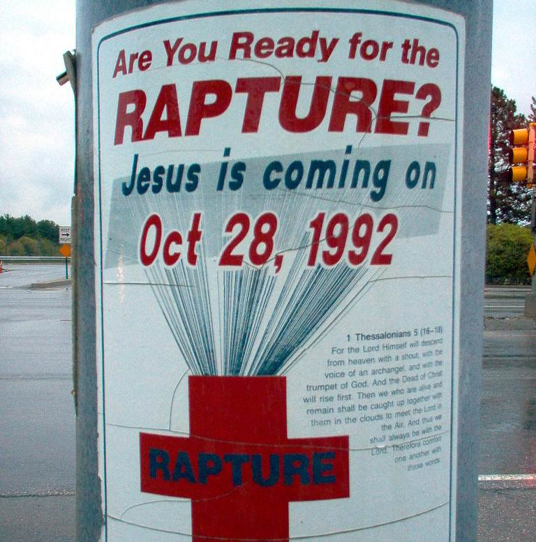 Rapture Sign