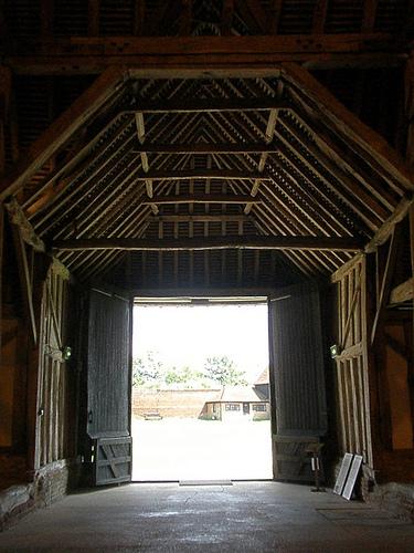 Open Barn Door 4672100252_e8b470813b2