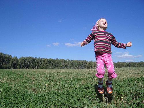 jump joy girl child 091110