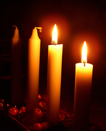 candles 10.29.10