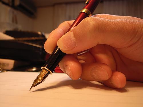 pen writing write