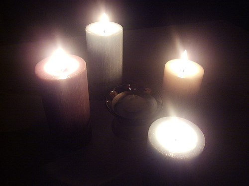 four advent candles