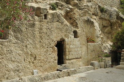 place of the resurrection of Jesus