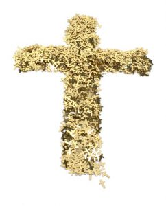 Golden Cross of Christ