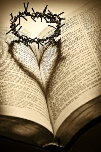Crown of Thorns and the Holy Bible