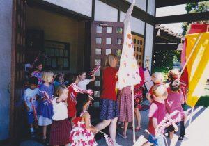 Children on Pentecost