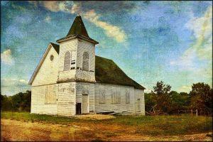 abandoned church closed