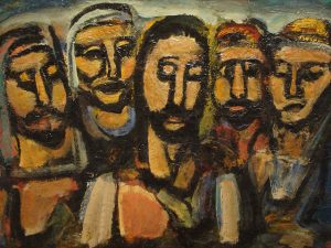Ben Sutherland Rousalts Christ and the Apostles CC