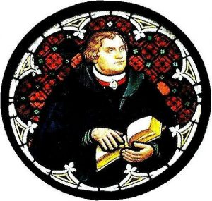 Martin Luther Stained Glass