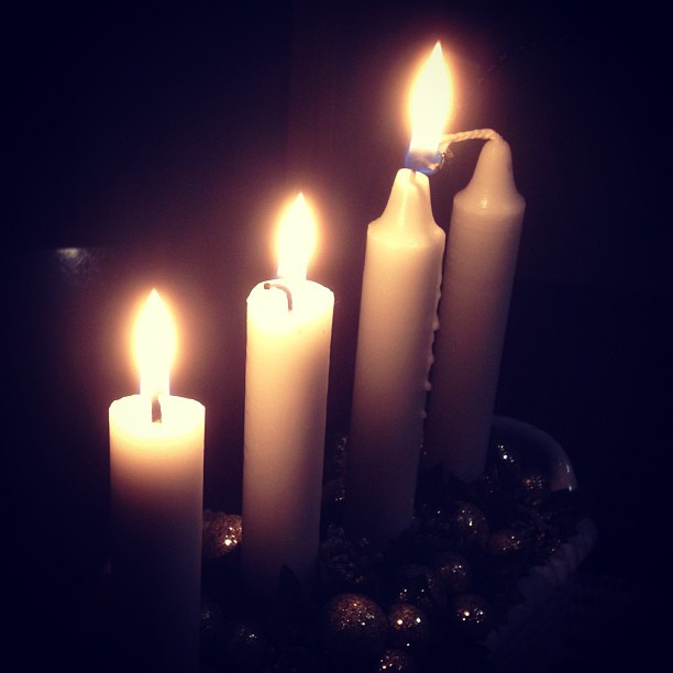 candles three advent