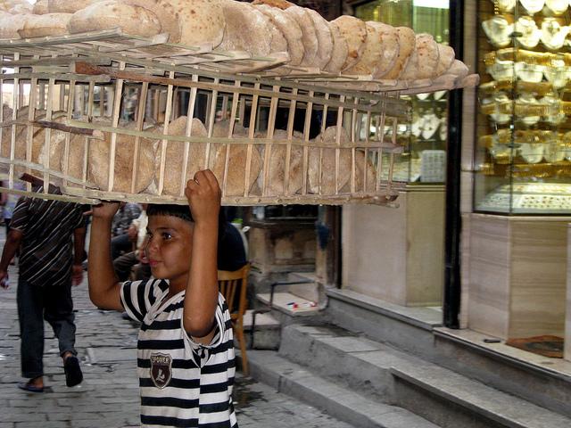 boy with bread.annamarieangelo.cc