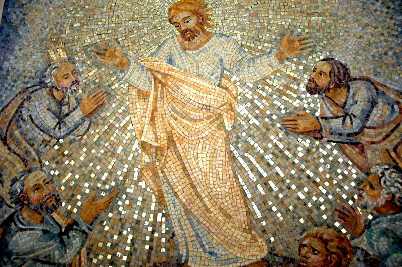 Jesus transfiguration ascension