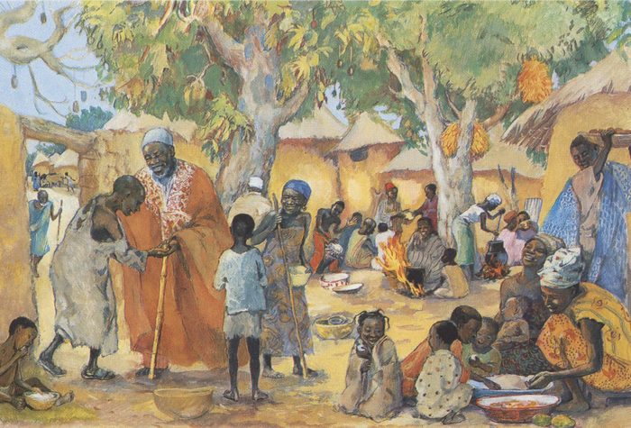 The Poor invited to the feast - Luke 14:15-24
